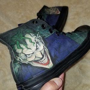🔥Hi Converse All-Star/DC Comics Joker Sneakers